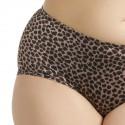 Shorty grande taille imprimé léopard Elomi Asia