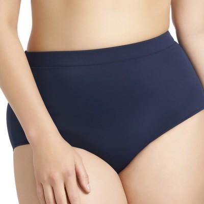 Bas de maillot de bain grande taille bleu marine Elomi Swim