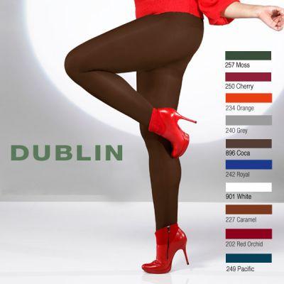 Collants 60 deniers du 46 au 62 opaque couleur
