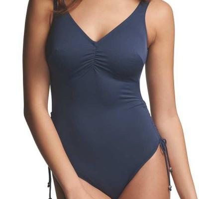 maillot de bain 1 pi ce grande taille fantasie bahamas bleu. Black Bedroom Furniture Sets. Home Design Ideas
