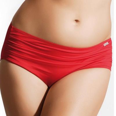 bas de maillot de bain grande taille rouge fantasie versailles