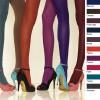 Collant opaque Gerbe 40 deniers en couleurs et en grande tailles