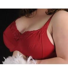 Soutien-gorge à armatures Charmille rouge