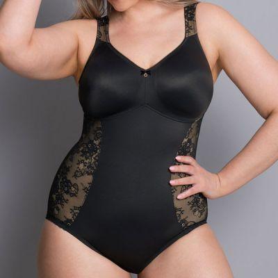 Body gainant sans armatures Rosa Faia Abby noir