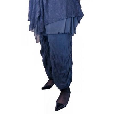 Pantalon sarouel bleu