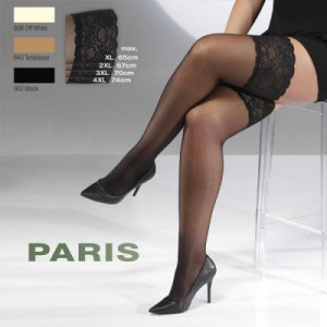 Les bas Cette Paris Stay up couleur écru pour mariage jusqu'au 60/62